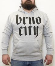 Brno city hood grey