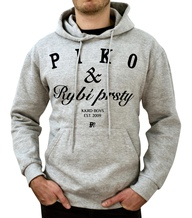 Piko hood grey/black
